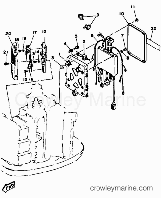 35 Hp Evinrude Part Diagram