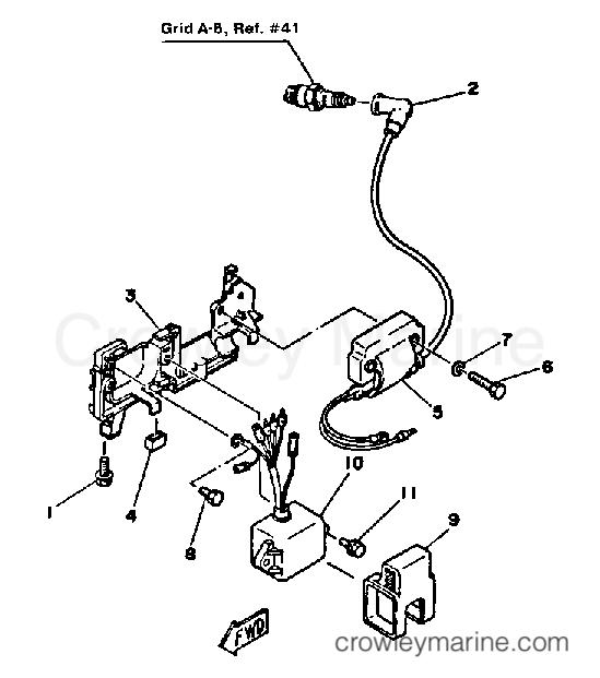 Yamaha Outboard Engine Parts Diagram