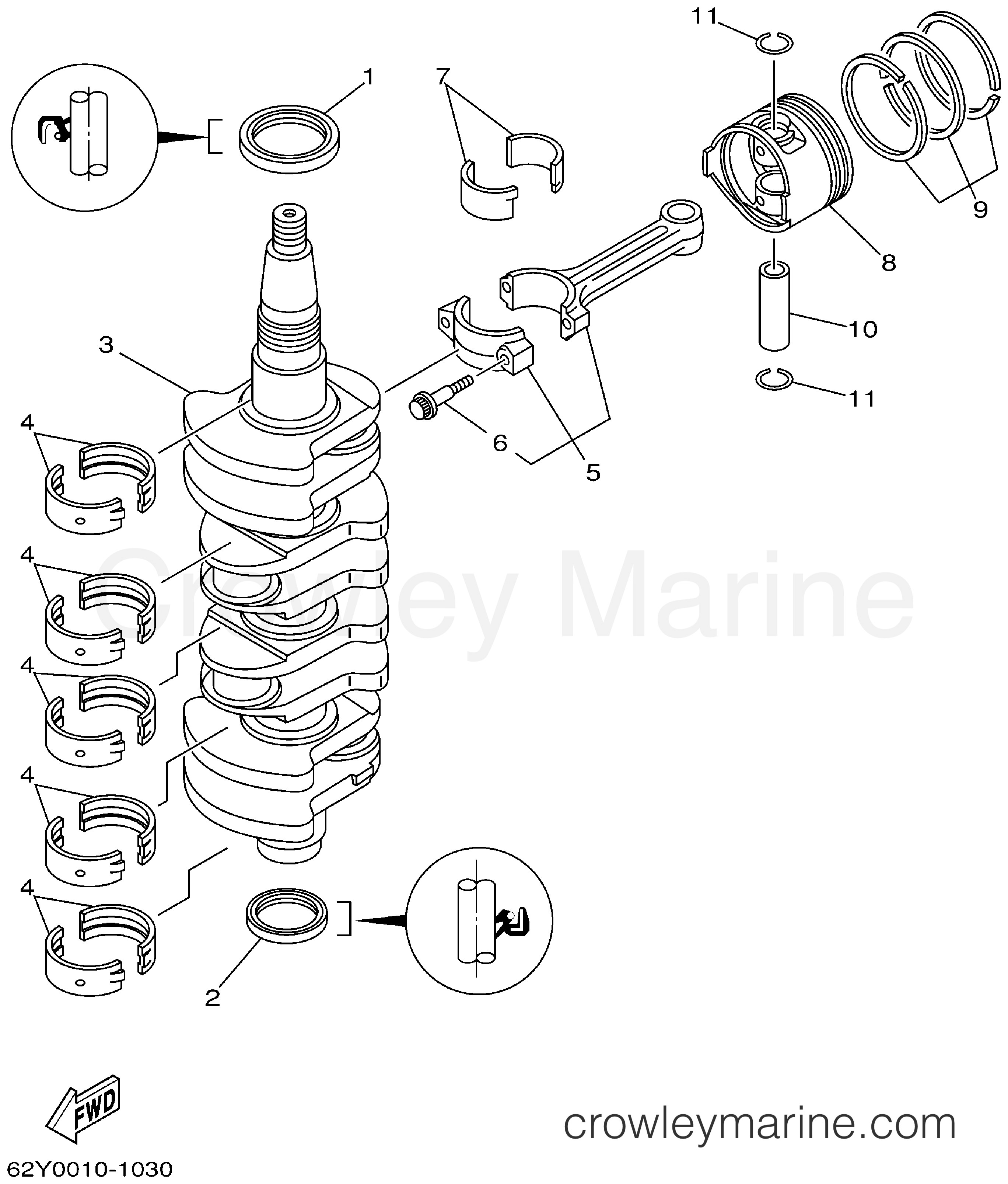 how to change damper seal on a 50 yamaha outboard