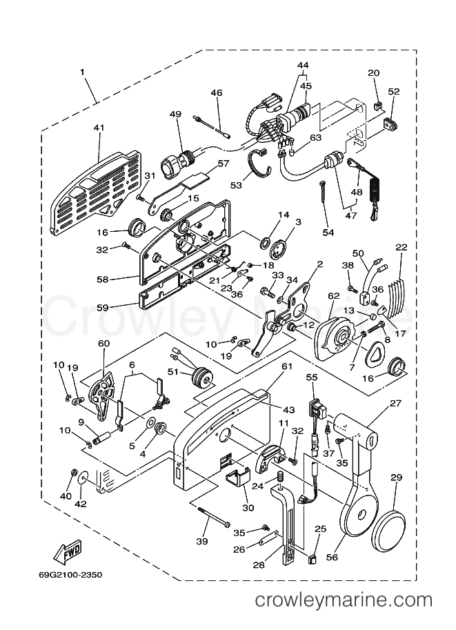 Yamaha 703 Controller Wiring Harness