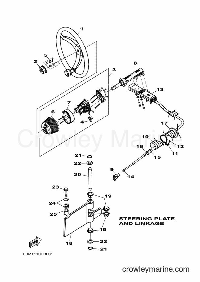 2017 WaveRunner SH1800B-S - SH1800B-S (F3M5) [020] - STEERING